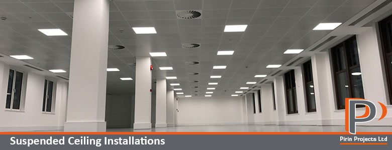 Suspended Ceiling Installations | Pirin Projects Ltd