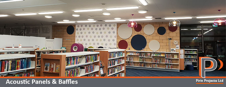 Acoustic panels and baffles