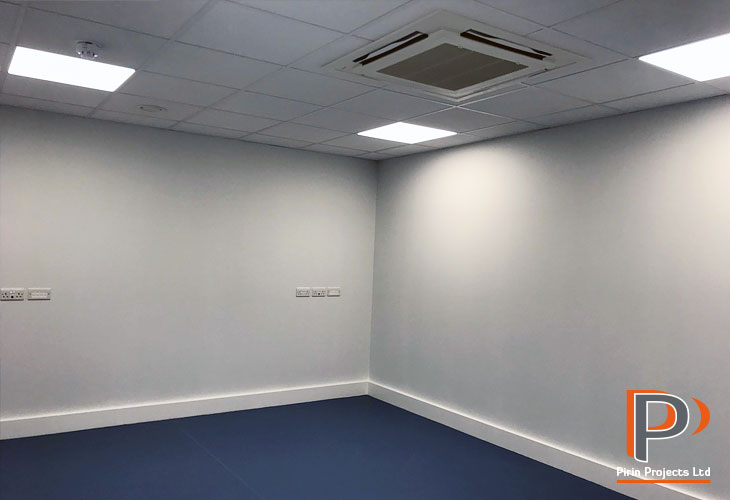 Suspended ceiling installation in Hillingdon