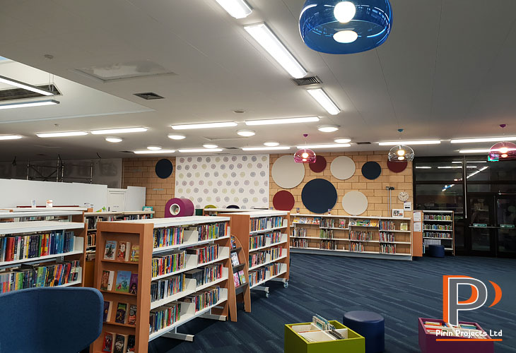 Acoustic panel and suspended ceiling installation in St Albans