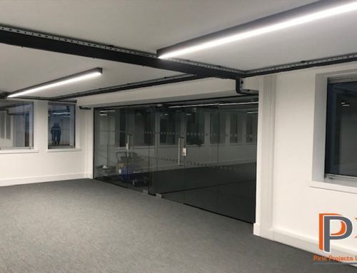 Suspended Ceilings & Glazed Partition Installation –  London EC3