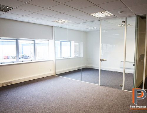 Metal Stud Partition & Ceiling Installation in Stevenage