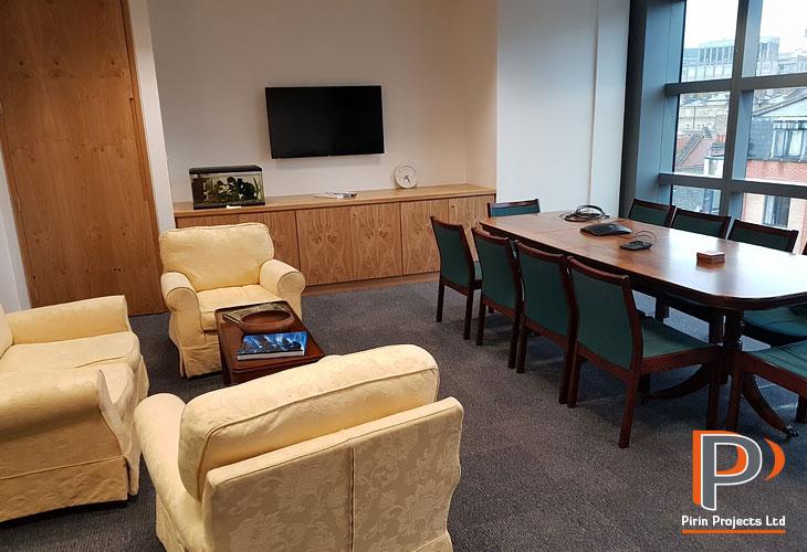 Central London office refurbishments