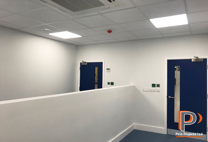 Office Partitions & Suspended Ceilings | Pirin Projects Ltd