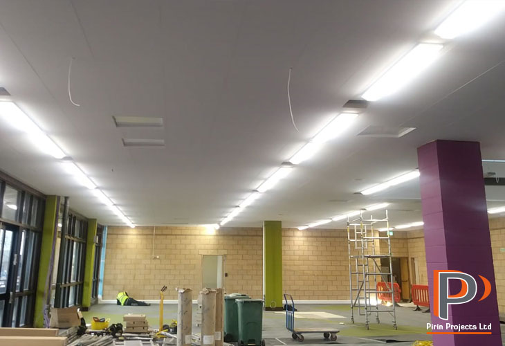 Suspended ceiling installation in St Albans