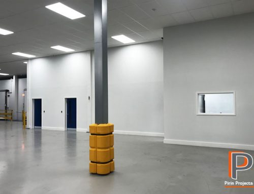 Warehouse Office Partition & Suspended Ceiling Installation West London